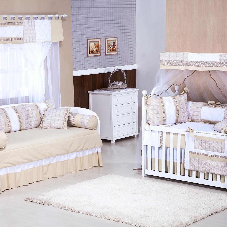 Quarto para Bebê sem Cama Babá Plinsado