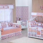 Quarto para Bebê sem Cama Babá Encanto Floral