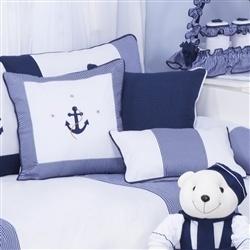 Almofadas Decorativas Marinheiro Azul