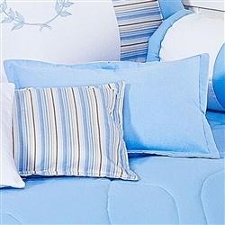 Almofada Lisa Ursinho Azul