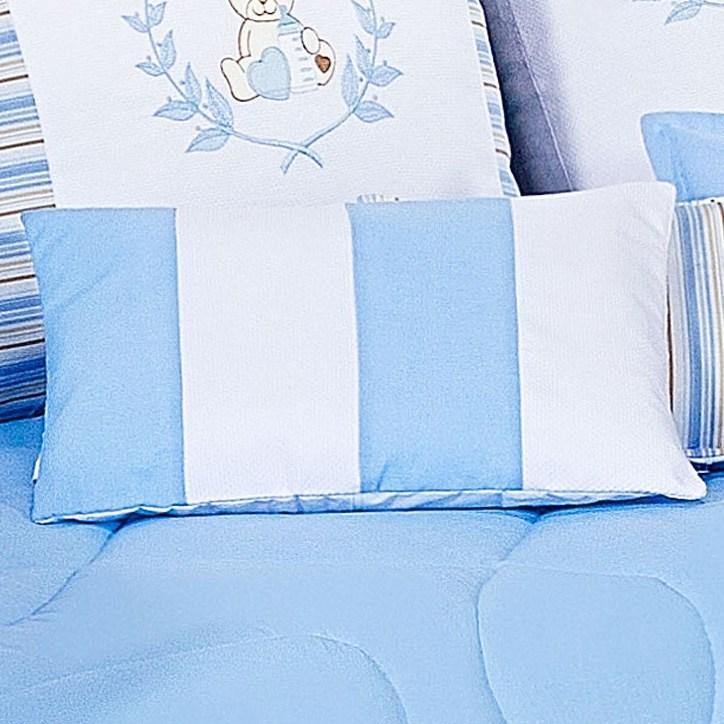 Almofada Repartições Ursinho Azul