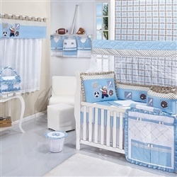 Quarto para Bebê sem Cama Babá Baseball