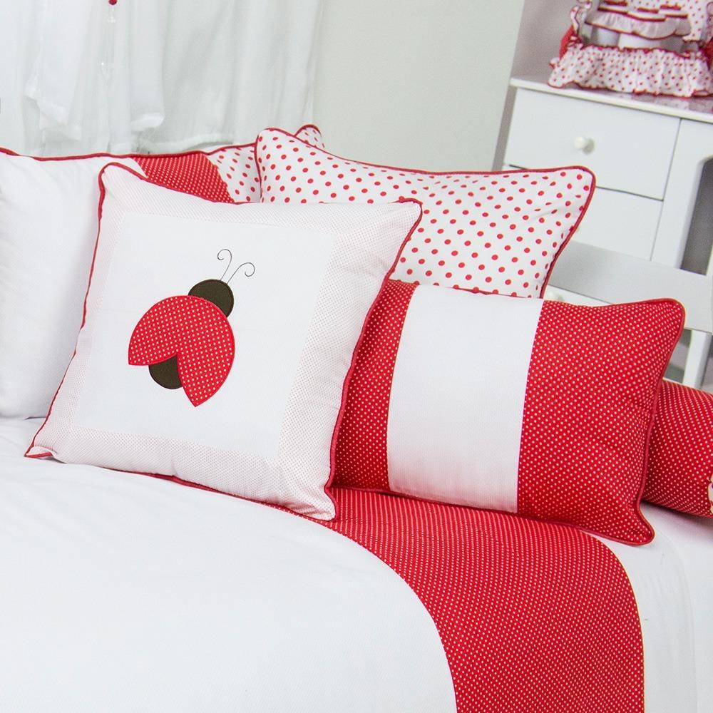 Almofadas Decorativas Joaninha