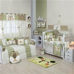 Quarto para Bebê sem Cama Babá Floresta