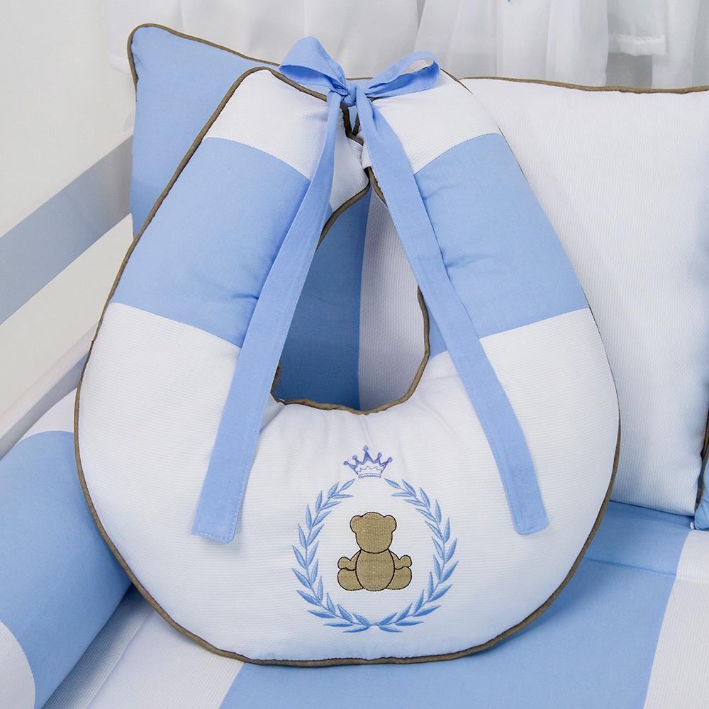 Almofada para Amamentação Teddy Azul