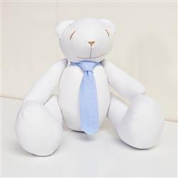 Urso M Gravata Azul