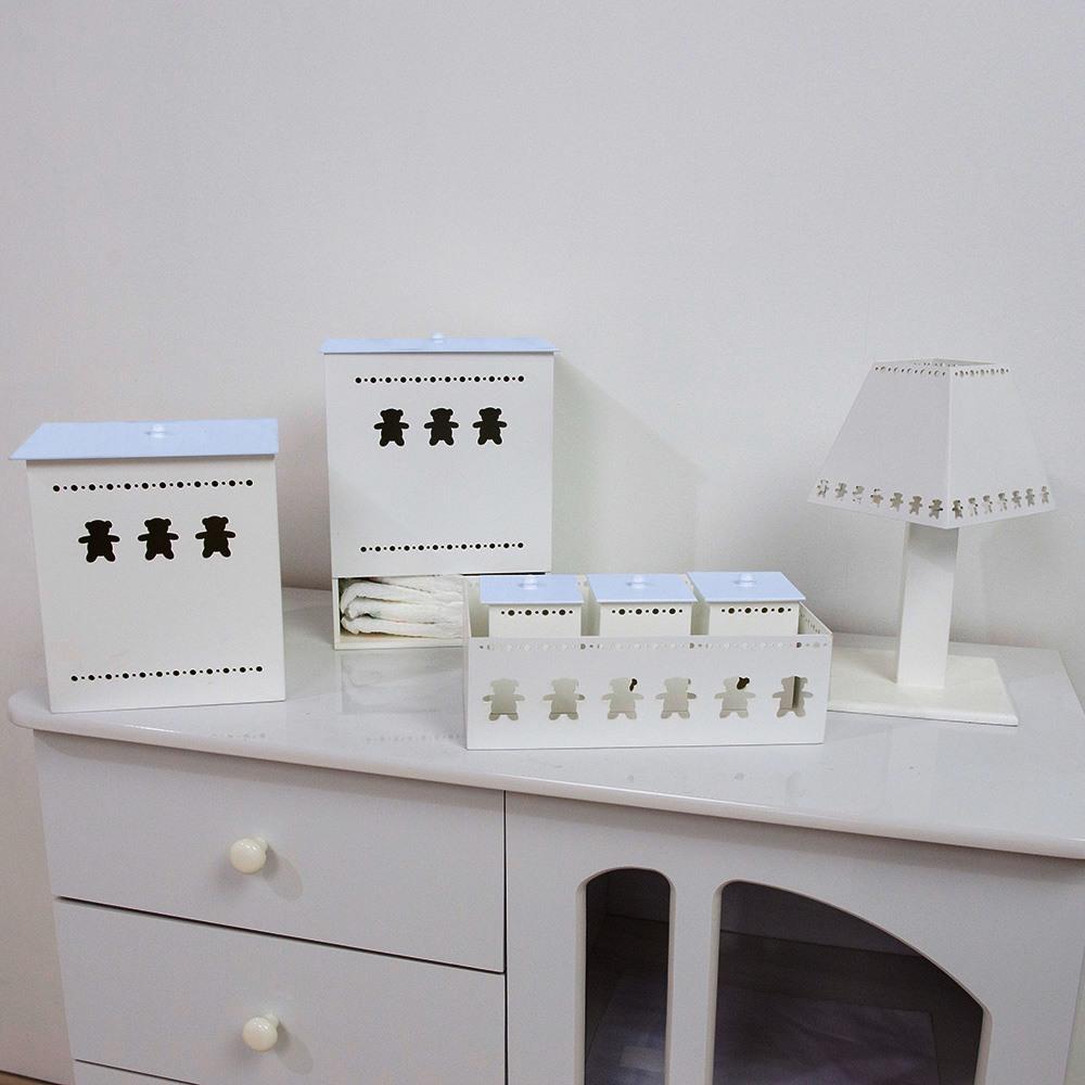 Kit Higiene Teddy Azul