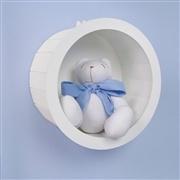 Nicho com Urso Teddy Azul P