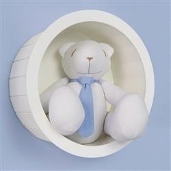 Nicho com Urso Teddy Azul M