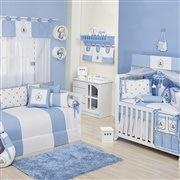 Quarto para Bebê Teddy Azul
