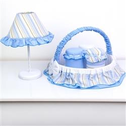 Kit Acessórios Ursinho Azul