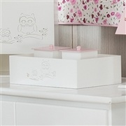 Kit Higiene Coruja Rosa