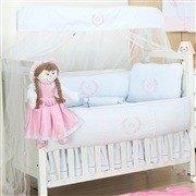 Quarto para Bebê sem Cama Babá Princesa Rosa