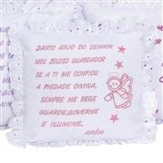 Almofada Santo Anjo Lese Rosa
