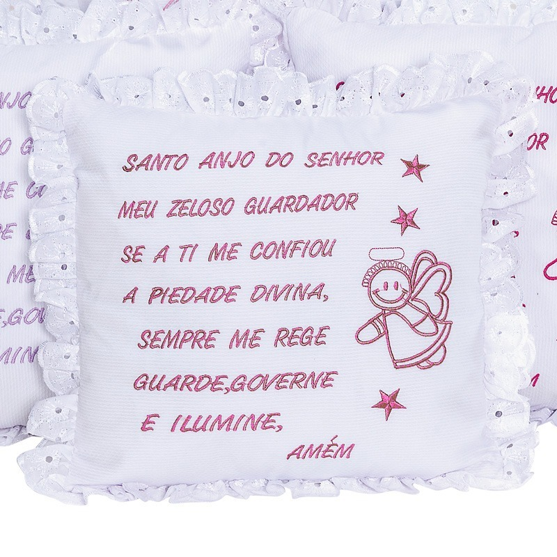 Almofada Santo Anjo Lese Pink