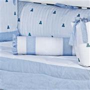Almofada Decorativa Luxo Azul