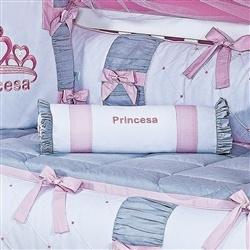 Almofada Decorativa Princesa Rosa