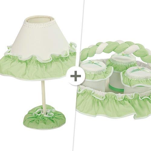 Kit Acessórios Sensação Palha e Verde