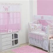 Quarto para Bebê sem Cama Babá Pequena Princesa