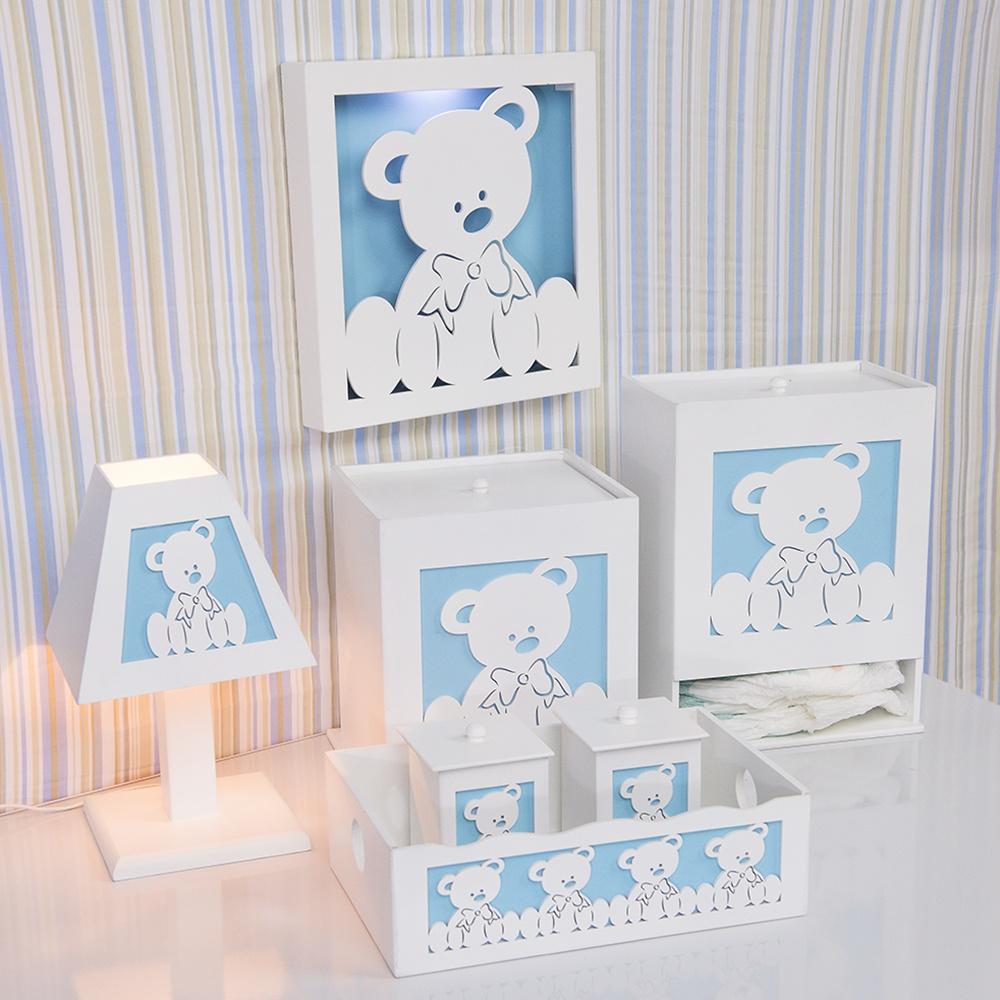 Kit Higiene Completo Urso Baby