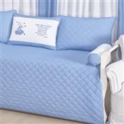 Kit Cama Babá Santo Anjo Azul