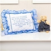 Quarto para Bebê sem Cama Babá Santo Anjo Azul