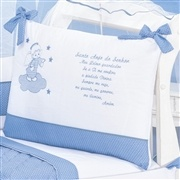 Quarto para Bebê Santo Anjo Azul