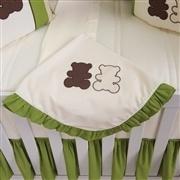 Quarto para Bebê sem Cama Babá Urso Marrom