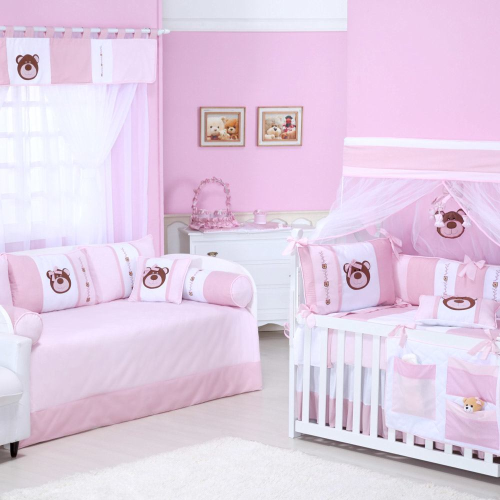 Quarto para Bebê sem Cama Babá Família Ursa