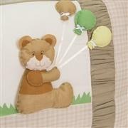 Quarto para Bebê sem Cama Babá Ursinho com Balões
