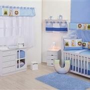 Quarto para Bebê sem Cama Babá Quadrinhos Encantados