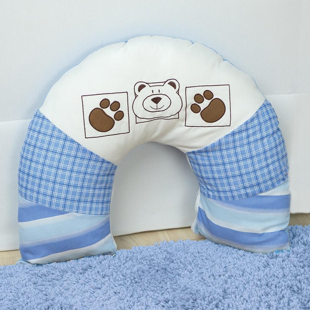 Almofada para Amamentação Urso Bordado