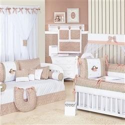 Quarto para Bebê Princesinha Salmão