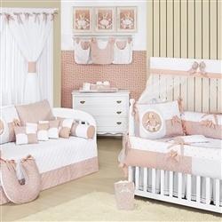 Quarto para Bebê sem Cama Babá Ursa Pepita