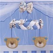 Quarto para Bebê sem Cama Babá Urso Pote de Mel