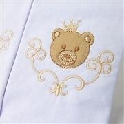 Jogo de Fraldas Boca Malha Urso Teddy