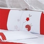 Kit Berço Joana Vermelha