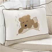 Kit Berço Bebê Urso Cáqui