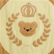 Tapete Urso Coroa Trigo Cáqui