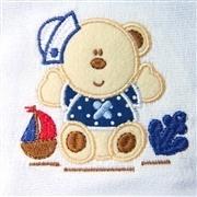Jogo de Fraldas Boca Urso Marinheiro
