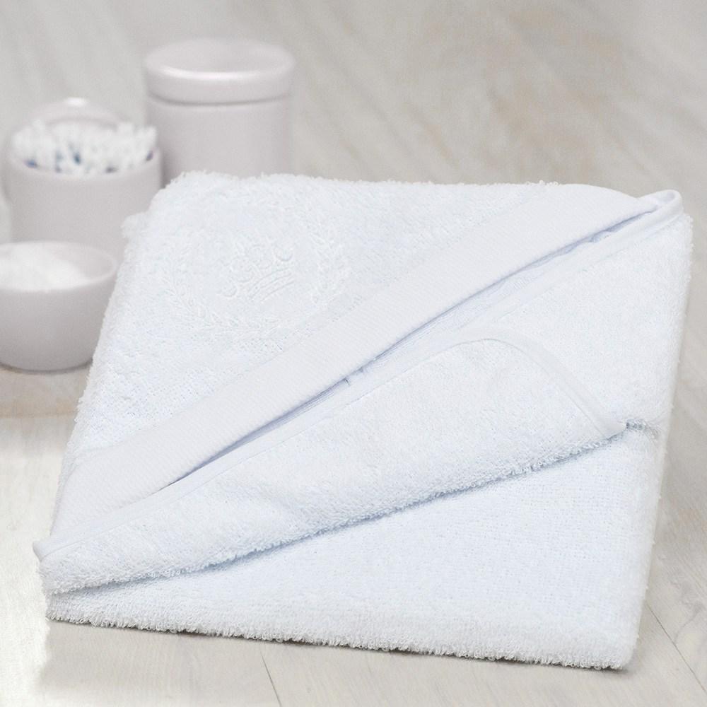 Toalha de Banho Coroa Branco