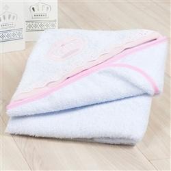 Toalha de Banho Coroa Rosa
