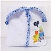 Porta Bebê Trenzinho Azul