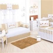 Quarto para Bebê Ursinho Luxo Bege