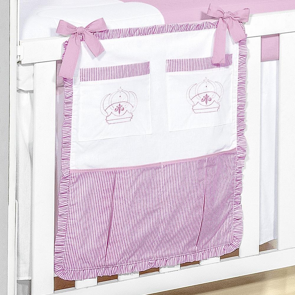 Porta Treco Realeza Rosa