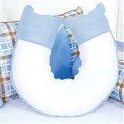 Almofada para Amamentação Ursinho Luxo Azul