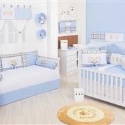 Quarto para Bebê Ursinho Luxo Azul