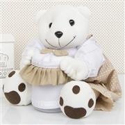 Ursinhos Porta Treco Teddy Cáqui