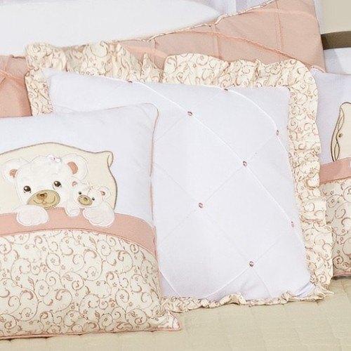 Almofada Decorativa Lisa Ursinhos