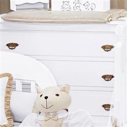 Trocador Plastificado Família Urso